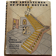 """The Adventures of Peddy Bottom"" by Stefan Themerson, 1st Ed. 1950, London"