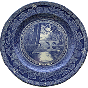Princeton 1930 Stony Brook Bridge Plate by Wedgwood