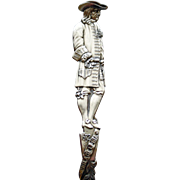 Full Figural Antique William Penn Sterling Souvenir Spoon