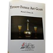Tiffany Favrile Art Glass by Moise S. Steeg, Jr., Signed by Author