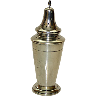English Sterling Sugar Shaker or Muffineer by Thomas William Lark