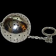 Vintage Sterling Tea Ball, Maker's Mark