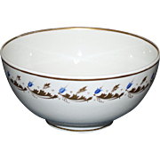 c. 1830 Bloor Derby Waste Bowl, Over- Glaze Gilding and Enamel