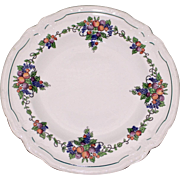 "Wedgwood Salad or Dessert Plate in California ""Earth"" Pattern, Etruria, England"