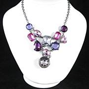 Bold Avon Colorful Bib Necklace