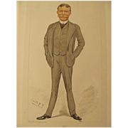 Antique Vanity Fair Men Of The Day Bill No.557
