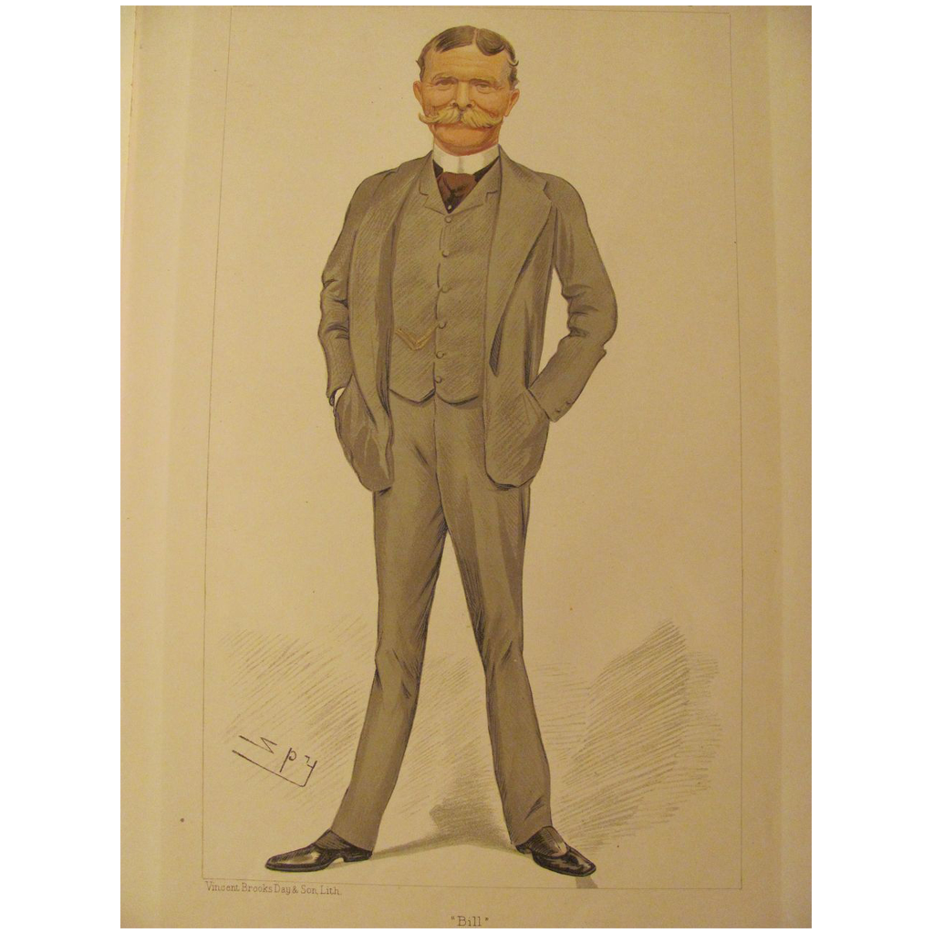 Antique Vanity Fair Men Of The Day Bill No.557