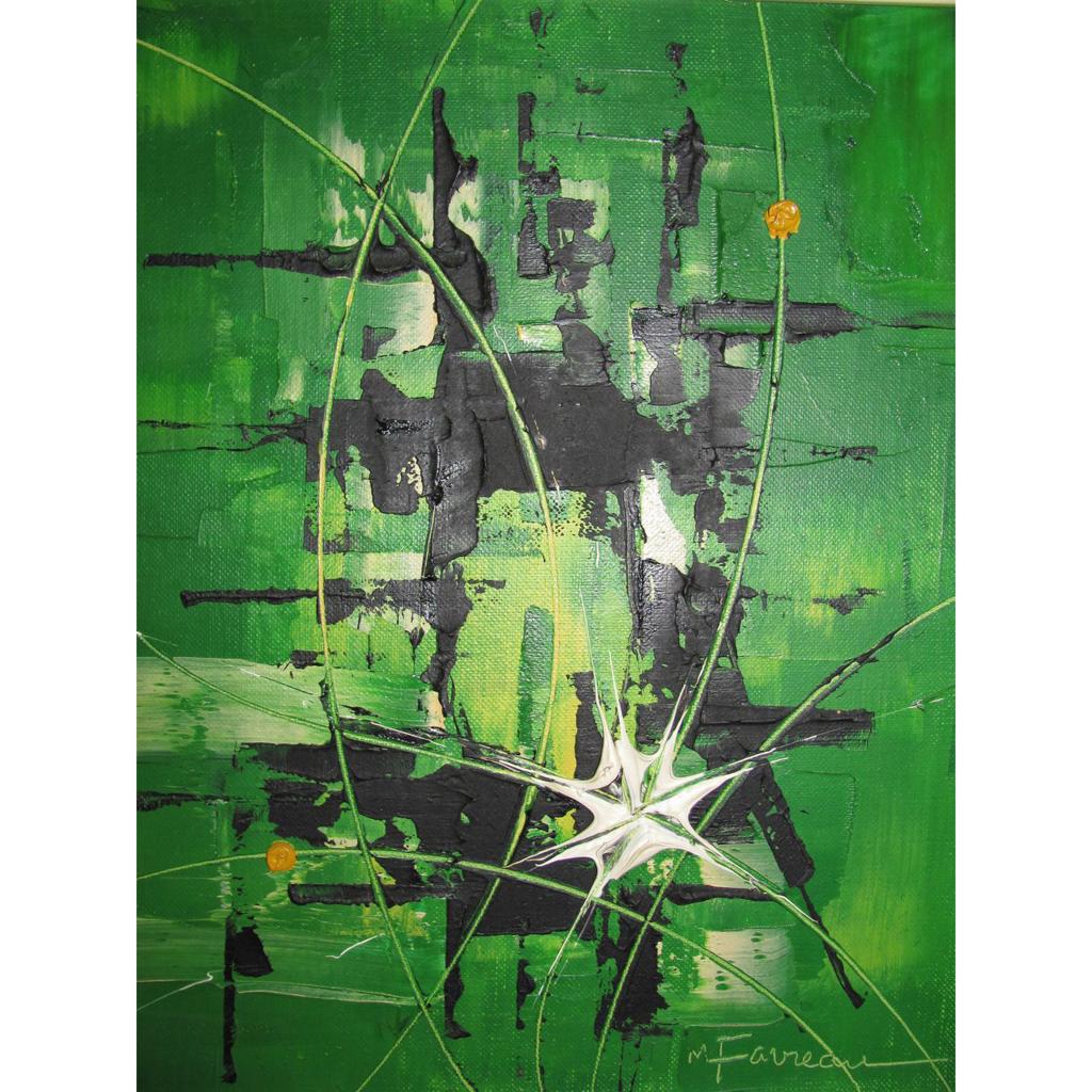 Marcel Favreau (1921-) Canadian Artist Oil Painting