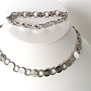 Lovely Sarah Coventry Silver Tone Demi Parure