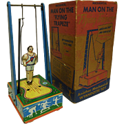 1941 Wyandotte 'Man of Flying Trapeze' Toy & Box