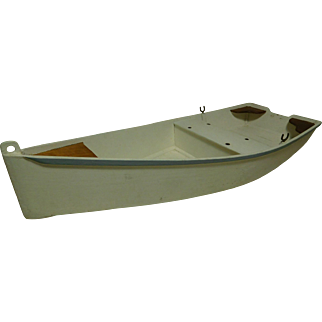 1950's Wooden Scratch-Built Motorboat