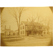 1888 Swift's Stable Falmouth, MA Photo.