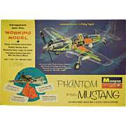 1961 Monogram Phantom F-51D Model Kit