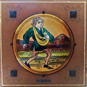 Jean-Paul Loup Limoges Enamel Plaque
