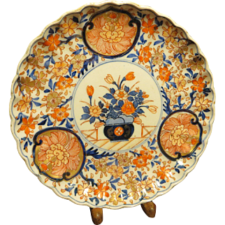 1860 Jap. Imari 8.5 in. Plate