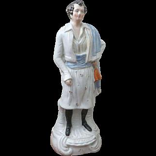 1860 Staff. Figure of Lord Byron