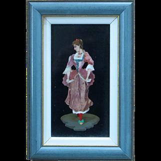 Pietra Dura Portrait of a Lady