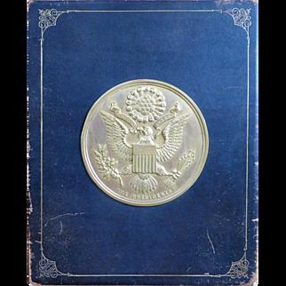 Rare 1906 White House Gallery Pres. Portraits Book