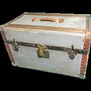 'W.M. Chadwick' Travelling Trunk 1891-1900.