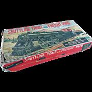 REDUCED. Vintage ALPS B.O. Tinplate Shuttling Train Set/Boxed