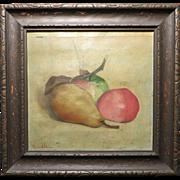 1900 Grace E. Wales Still Life Painting