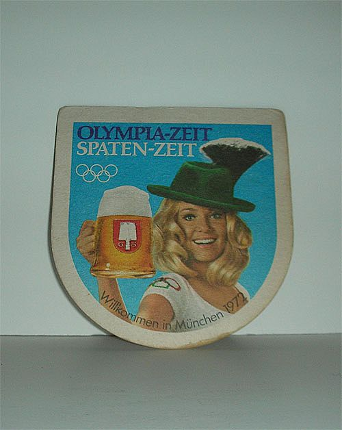 Olympic 1972 German Beer Coaster or mat