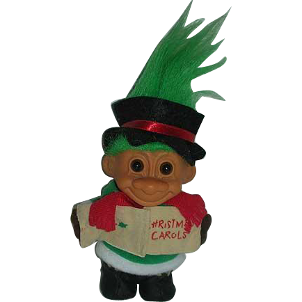 Russ Christmas Caroler Troll