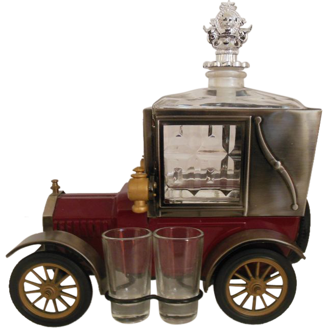 Ford Model T 1918  Music Box Scotch Decanter