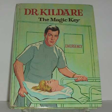 1964 Dr. Kildare the Magic Key TV Book