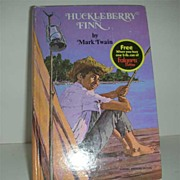 Huckleberry Fin Folger classic book