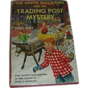 The Happy Hollisters 1954 Book  w/DJ