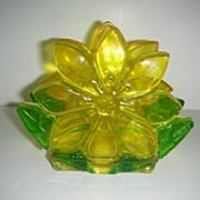 Resin Flower napkin letter holder