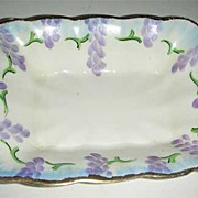 Painted Grape Prince Albert rectangle dish