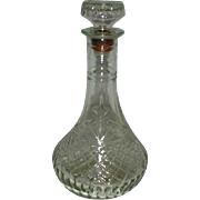 Captain's Decanter EAPC Pineapple pattern