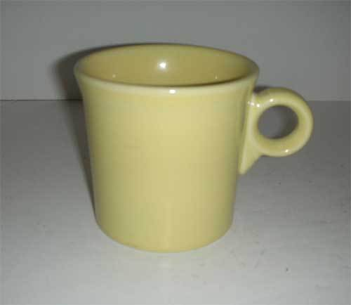 Fiesta sunflower yellow HLC handled mug