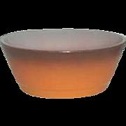 Fire-King Anchor Hocking  Orange  Cereal bowls