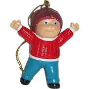 1984 Cabbage Patch Boy Porcelain ornament
