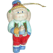 1984 Cabbage Patch Girl Porcelain ornament