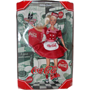 Mattel Coca-Cola Collector Edition Barbie  waitress