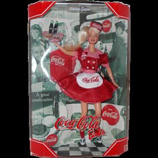 Mattel Coca-Cola Collector Edition Barbie  waitress