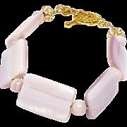 Pink Mother of Pearl Bracelet