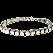 Vintage Indonesian Silver Bracelet