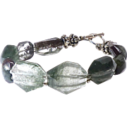 Faceted Lodalite Bracelet