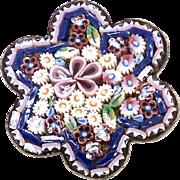 Vintage Italian Mosaic Pin