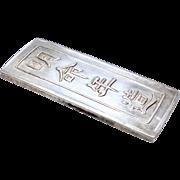 Vietnamese Silver Tael- 1841-1847 - Nguyen Dynasty