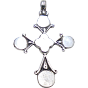 Vintage Indonesian Silver Cross