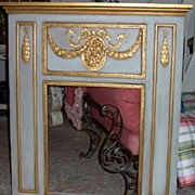 Trumeau Mirror in Old World Design