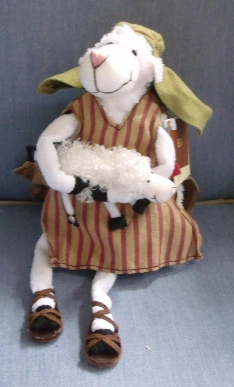 Eli is a Sheep from the Really Woolly Sheep Collection