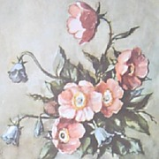 Zichy Floral Lithographs (Three Flower prints)