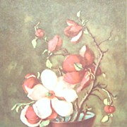 Zichy-Group of 8 Floral Prints by Countess Zichy